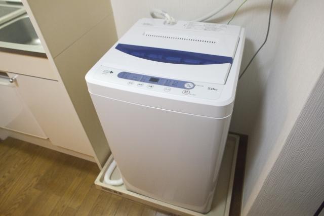 処分する洗濯機