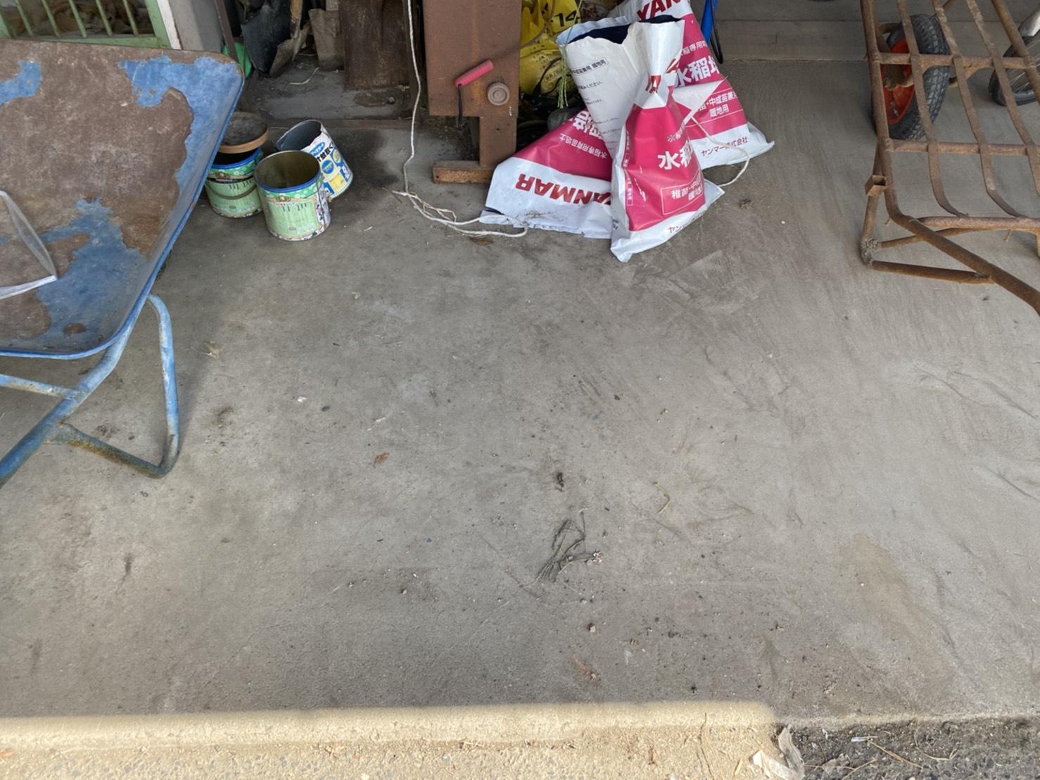 古い家電や雑貨類、その他の不用品の回収後