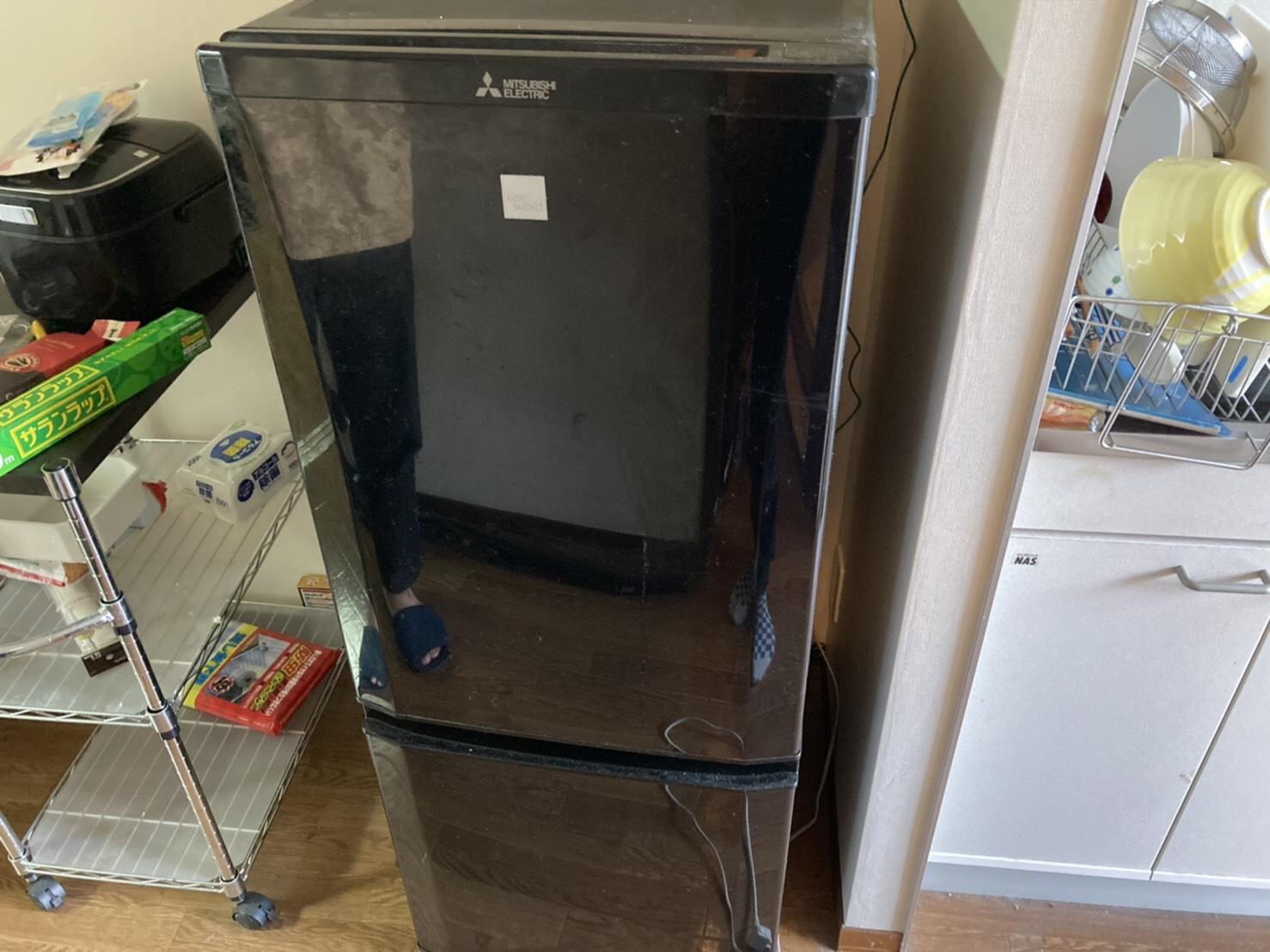 冷蔵庫の回収前