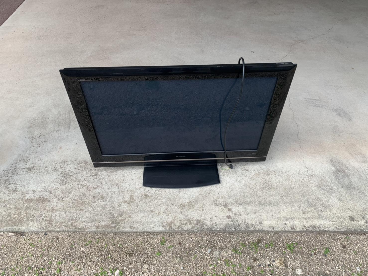 テレビの回収前