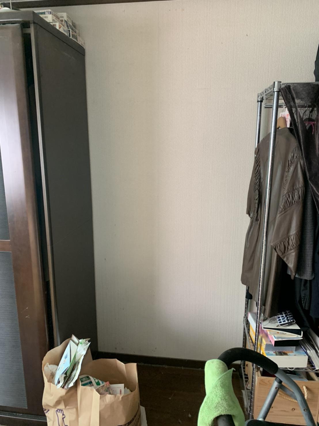 戸棚の回収後
