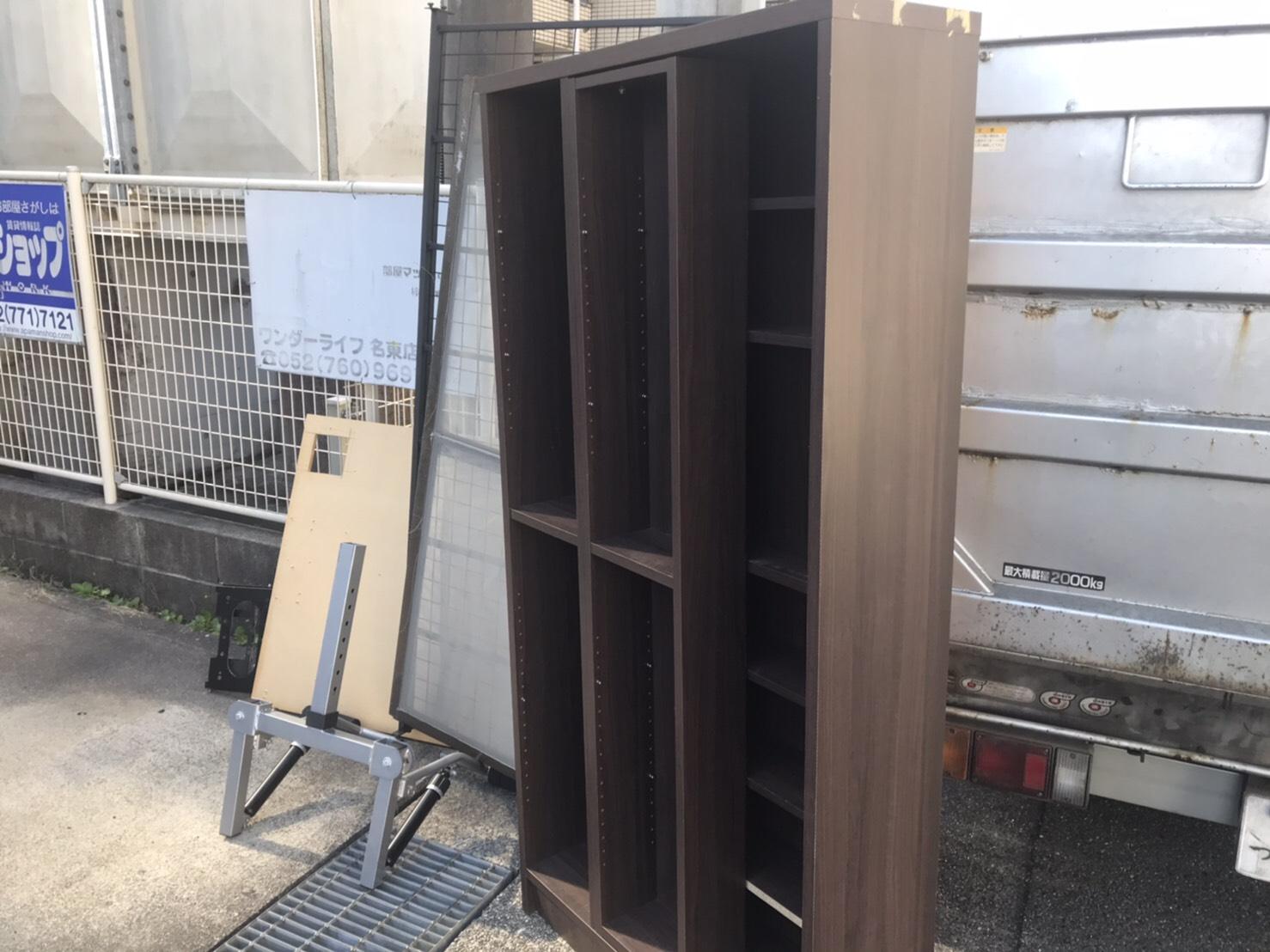 愛知県名古屋市の本棚の回収前