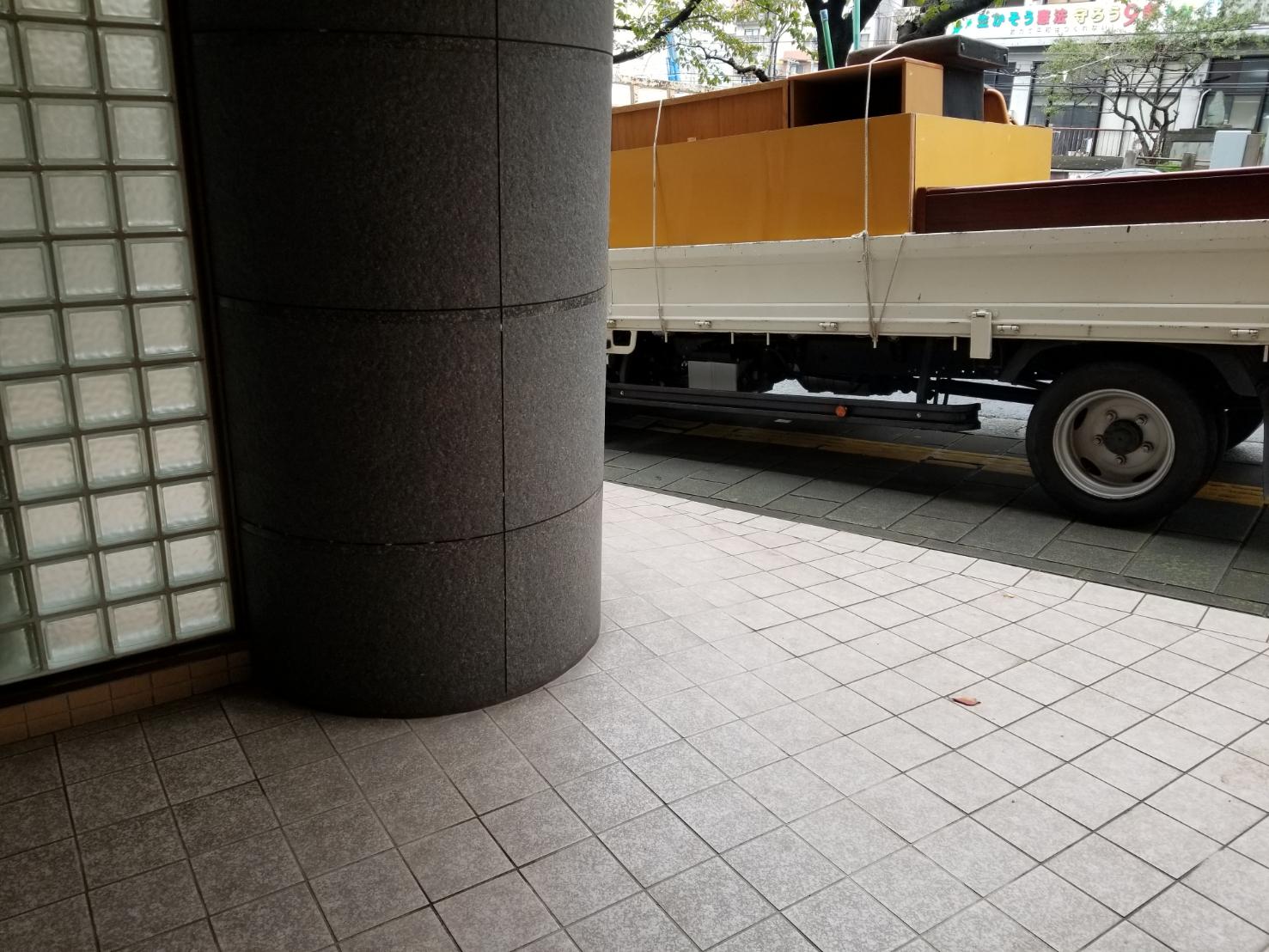 長崎県長崎市の鏡台の回収後