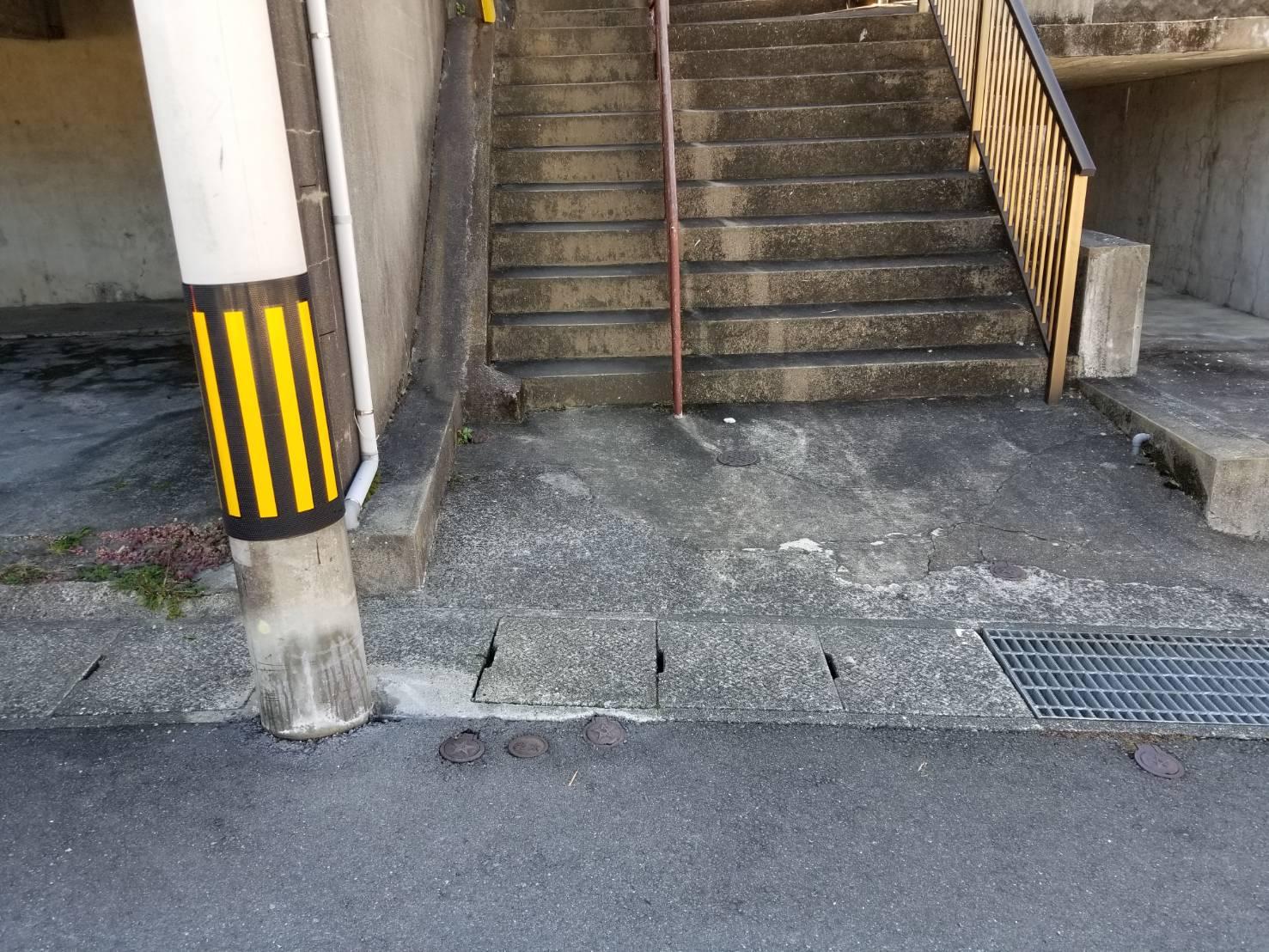 長崎県長崎市のスチールラックの回収後