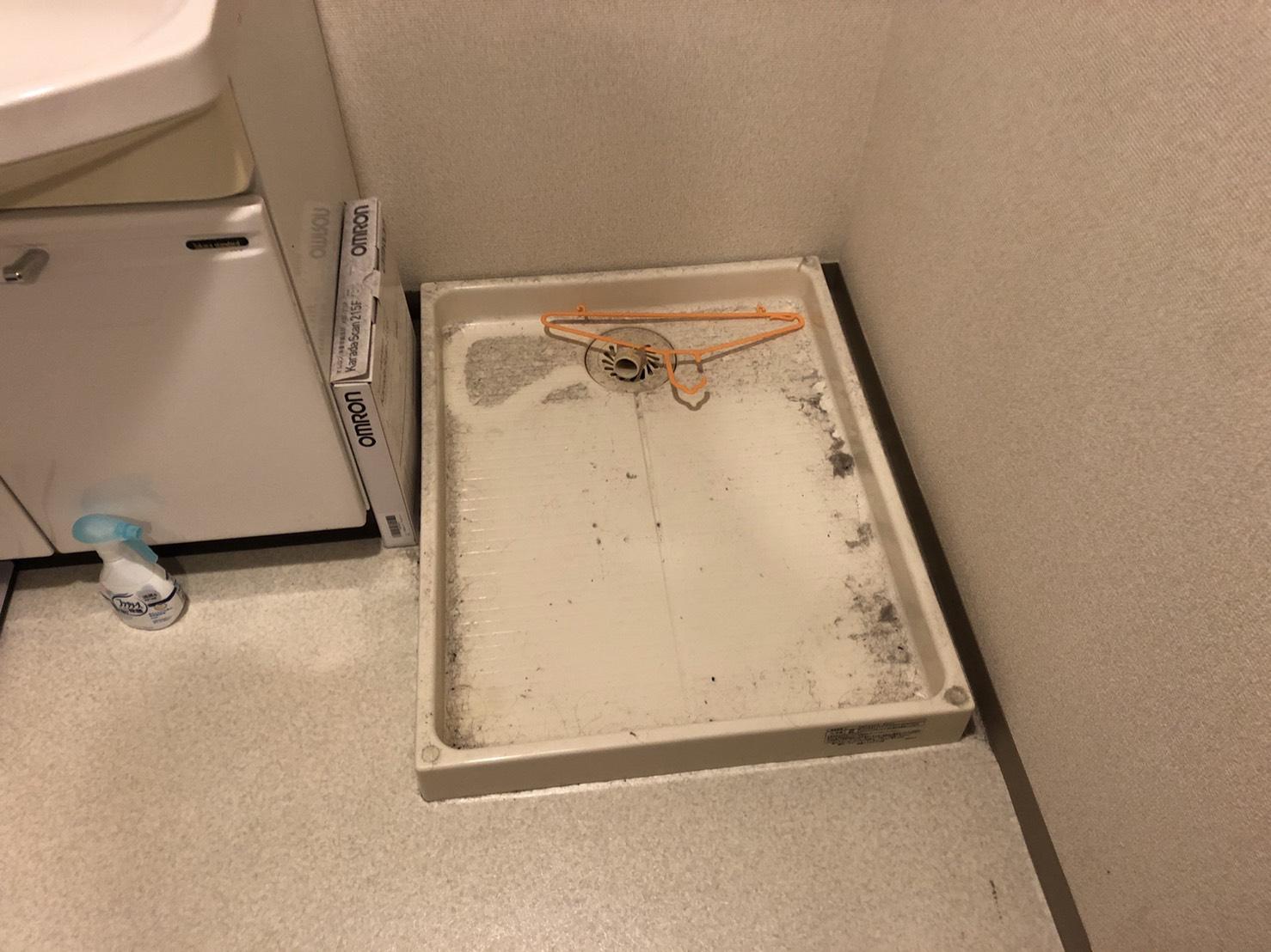 洗濯機の回収後