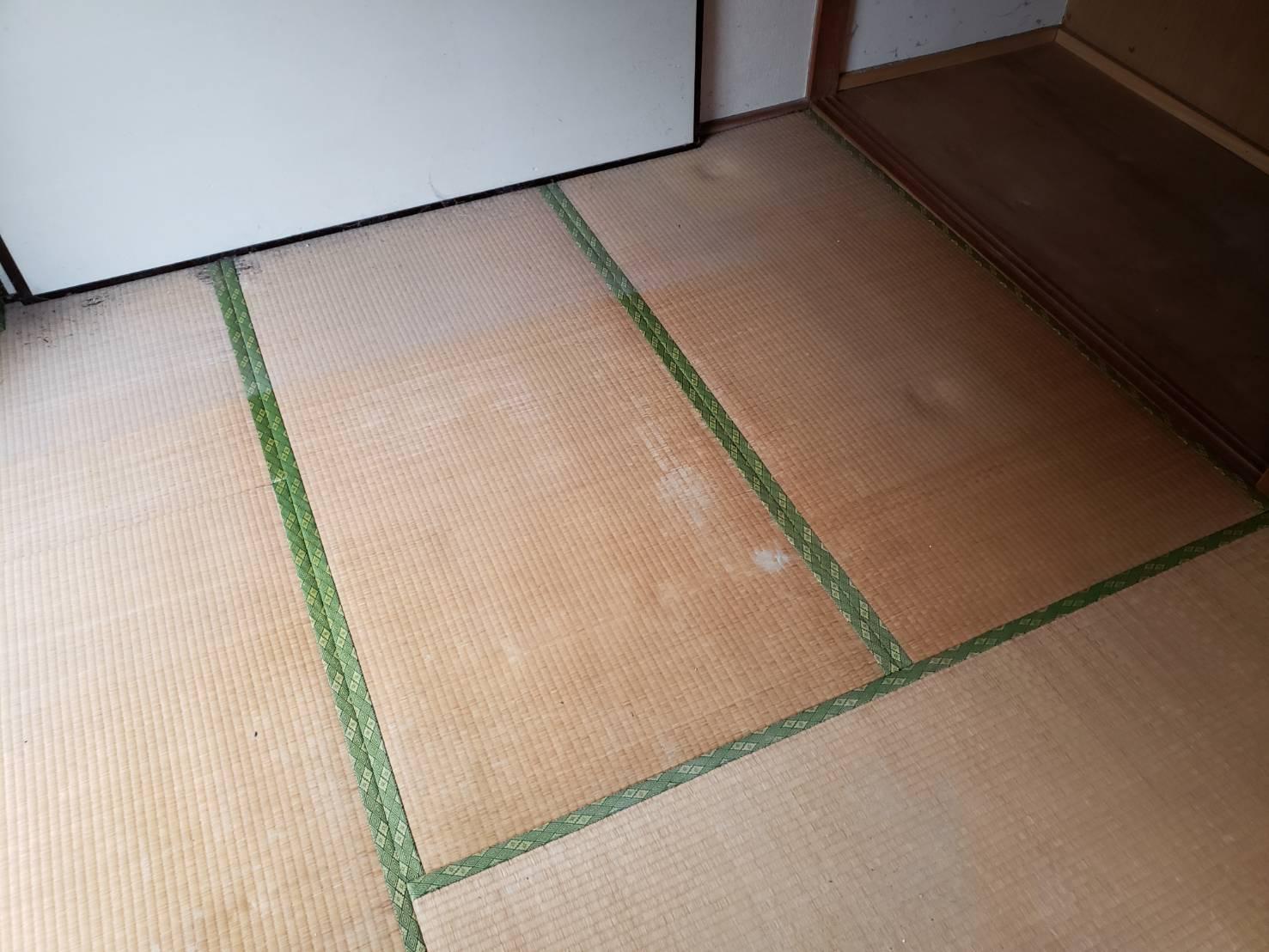 千葉県松戸市のベッドの回収後
