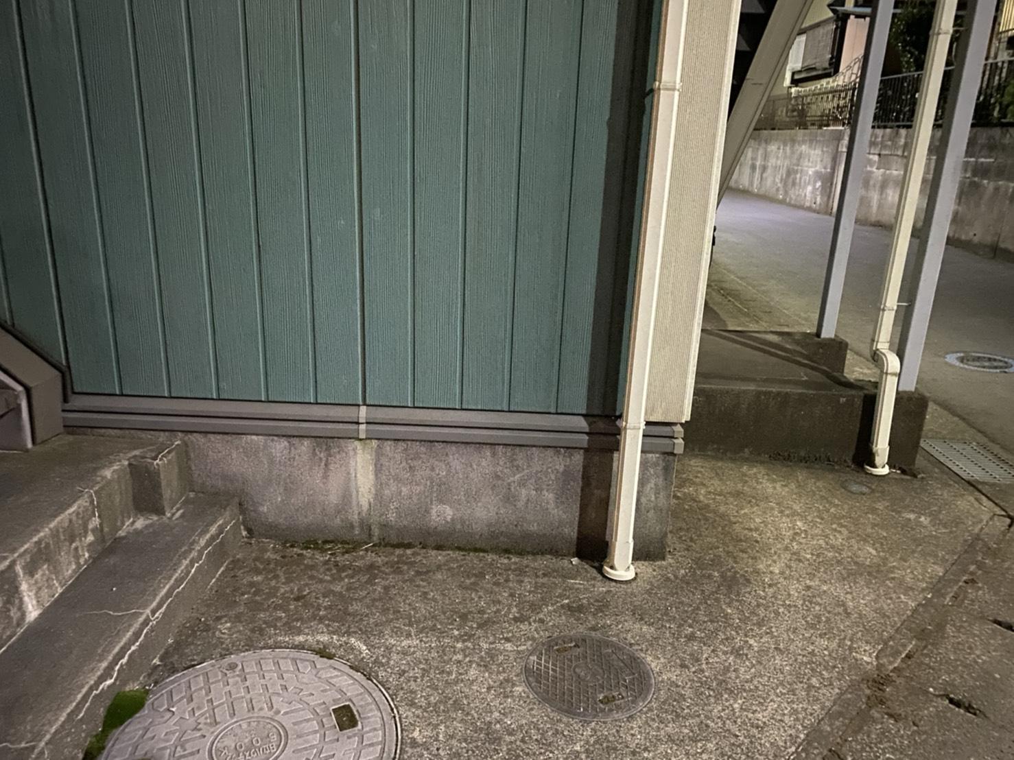 千葉県松戸市の全身鏡の回収後
