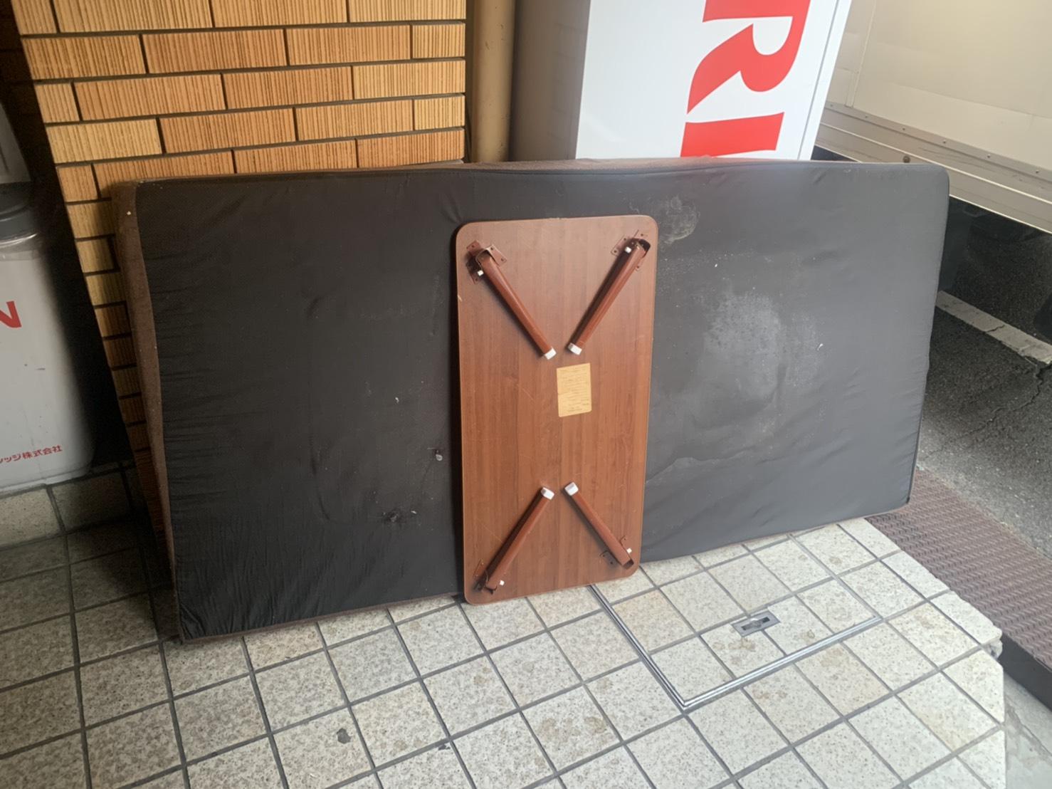 広島県広島市の座卓の回収前