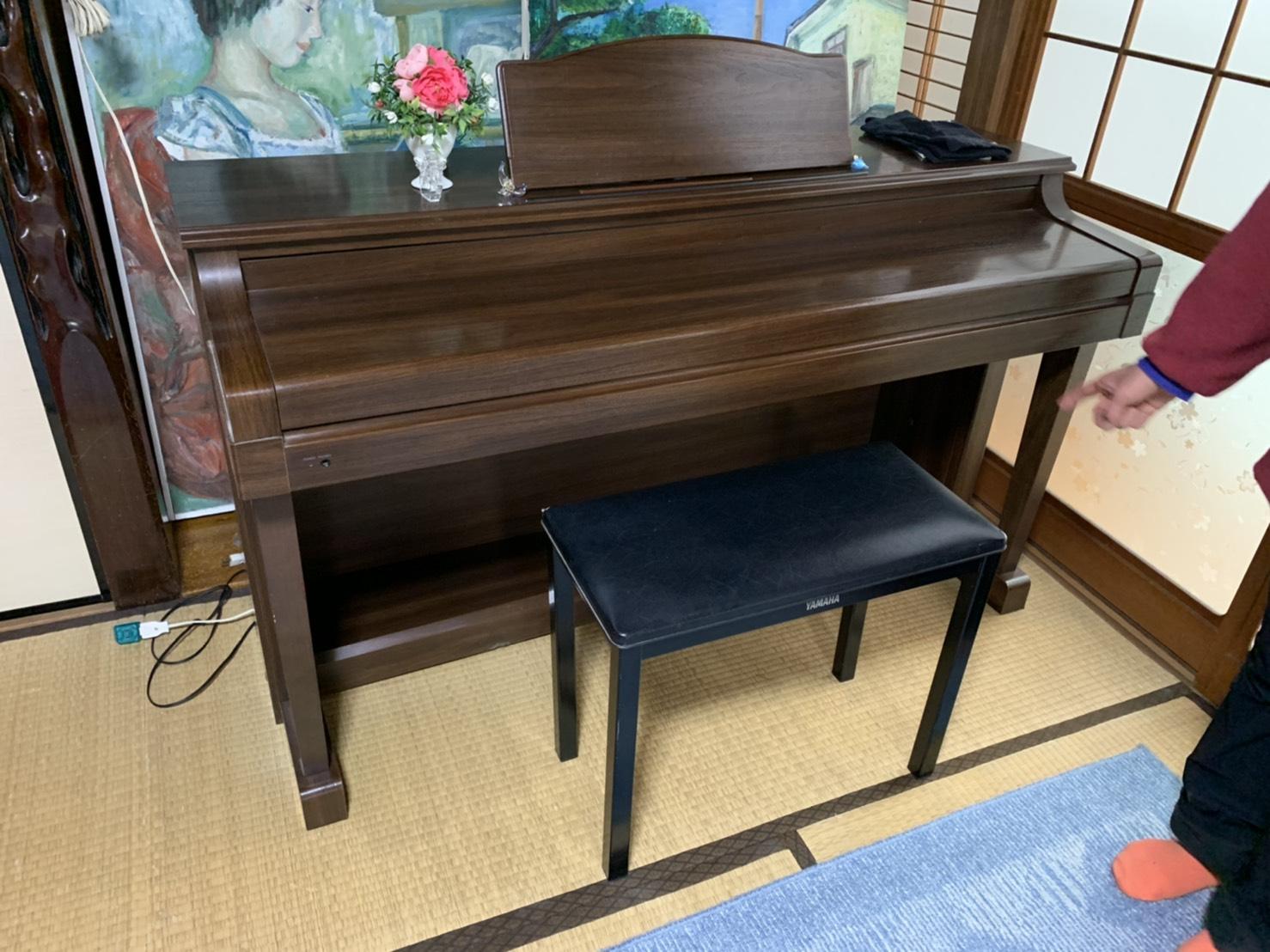 佐賀県佐賀市の楽器の回収前