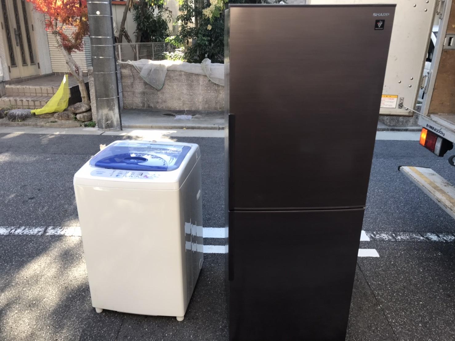 愛知県名古屋市の冷蔵庫・冷凍庫の回収前