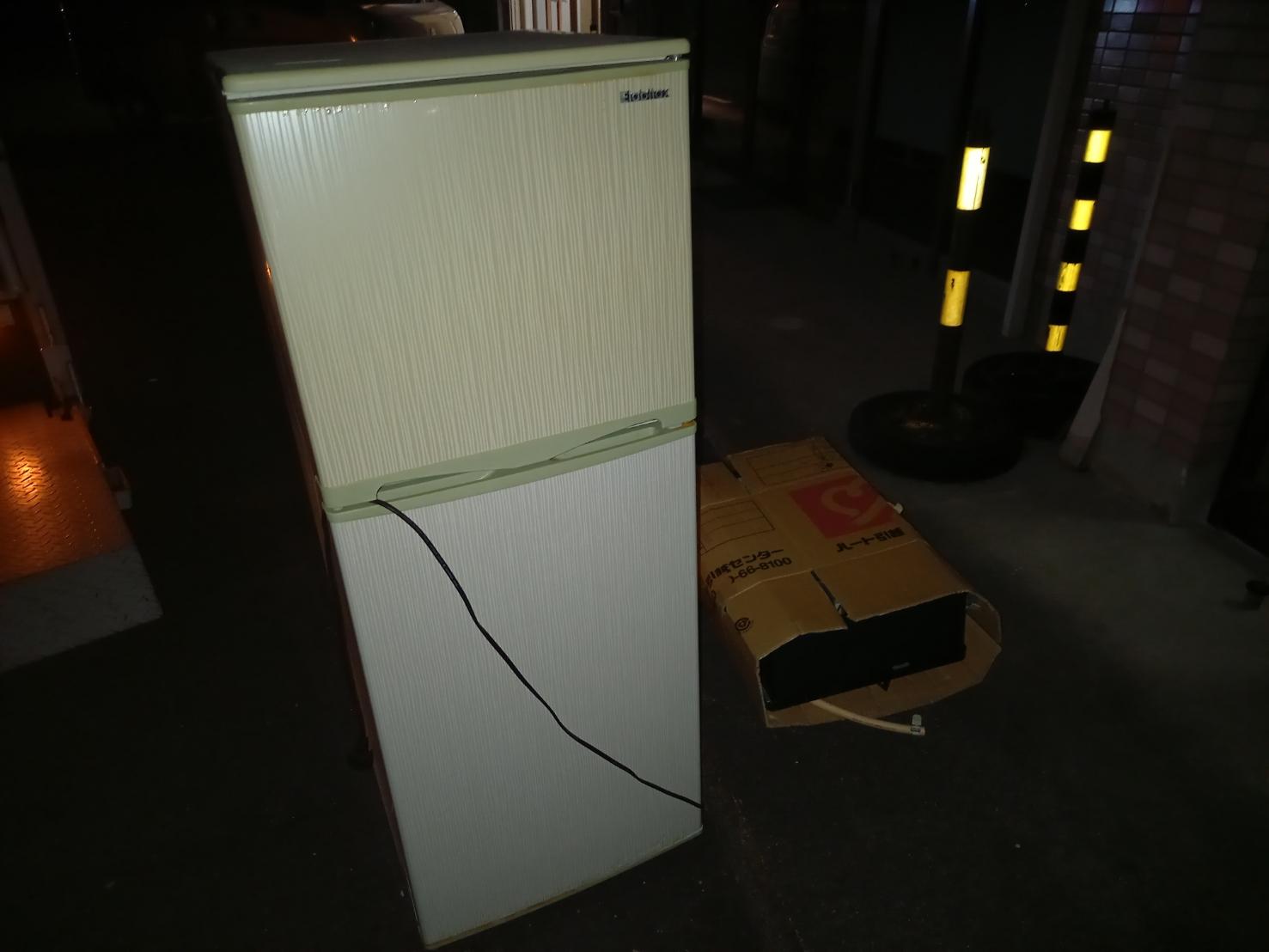 静岡県浜松市の冷蔵庫・冷凍庫の回収前