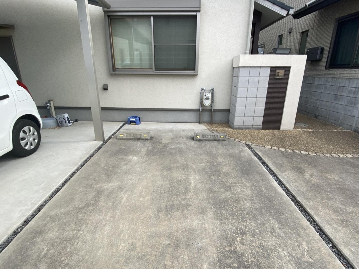 岡山県岡山市のローブの回収後
