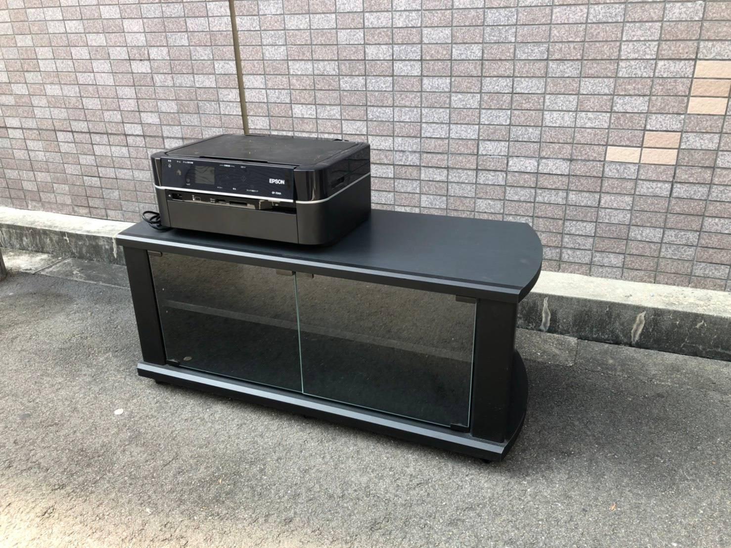 大阪府大阪市のテレビ台の回収前