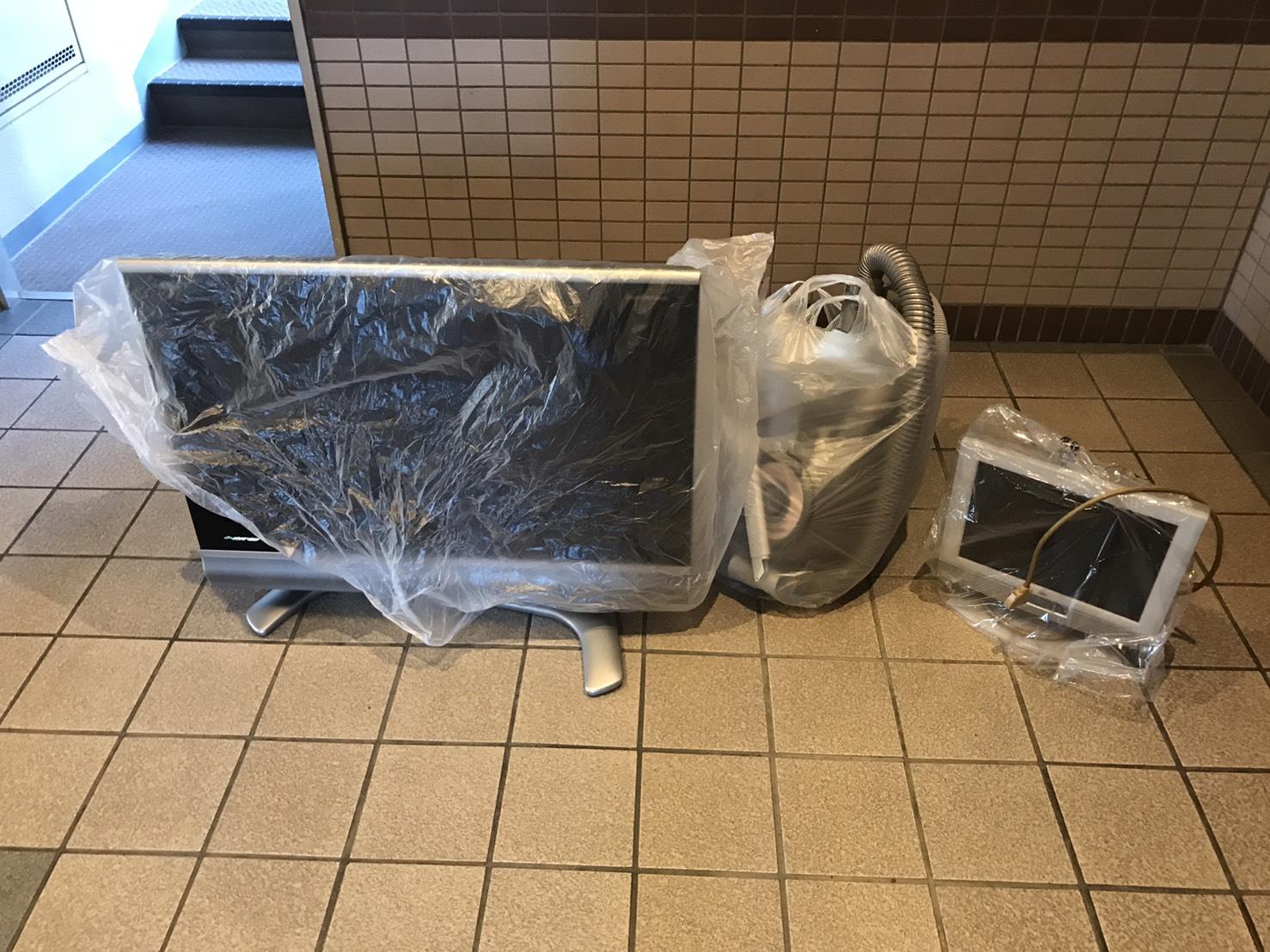 滋賀県大津市のテレビの回収前