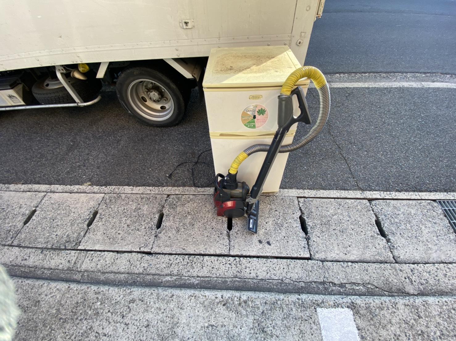 岡山県岡山市の掃除機の回収前