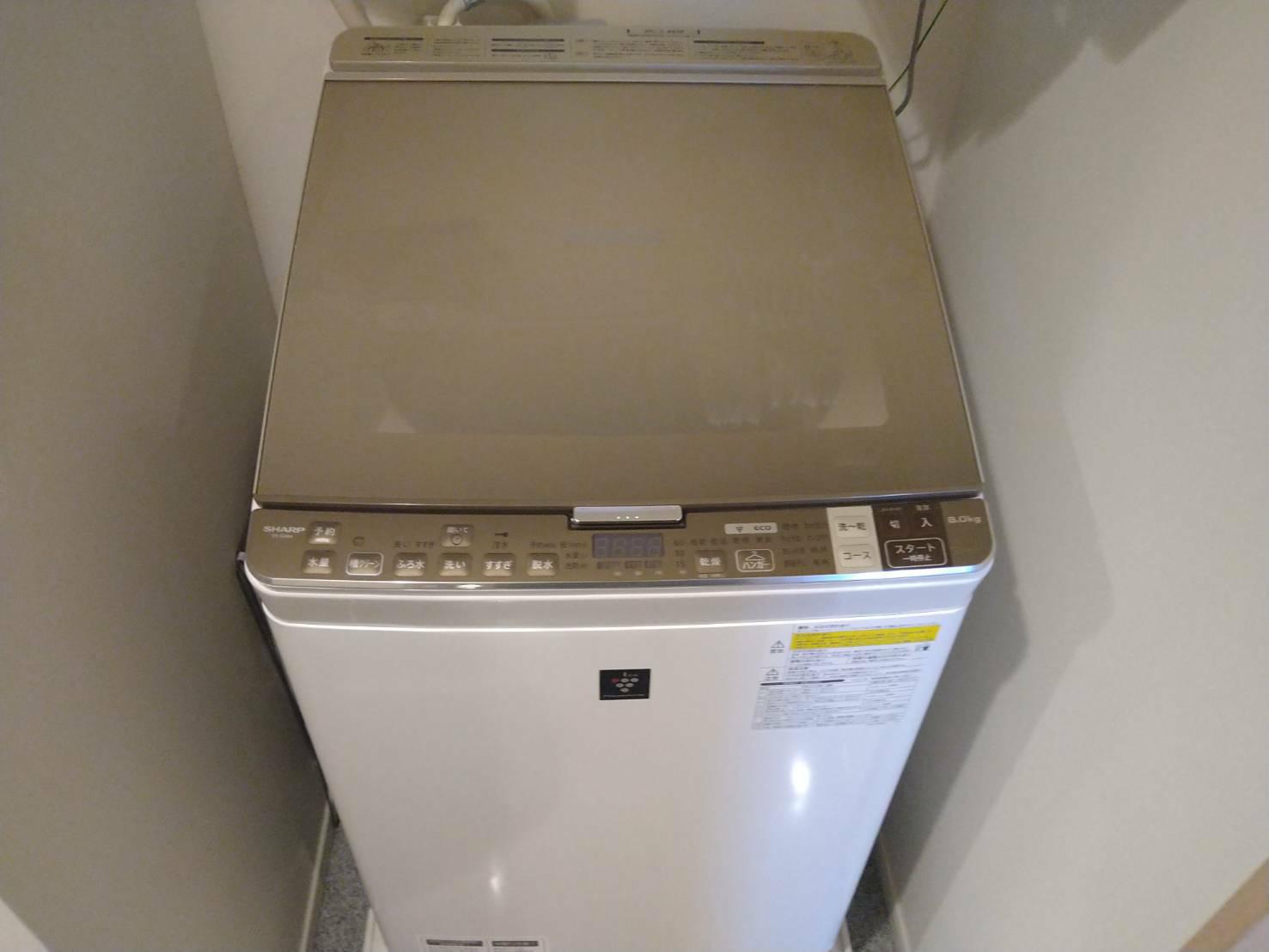 神奈川県川崎市の洗濯機の回収前