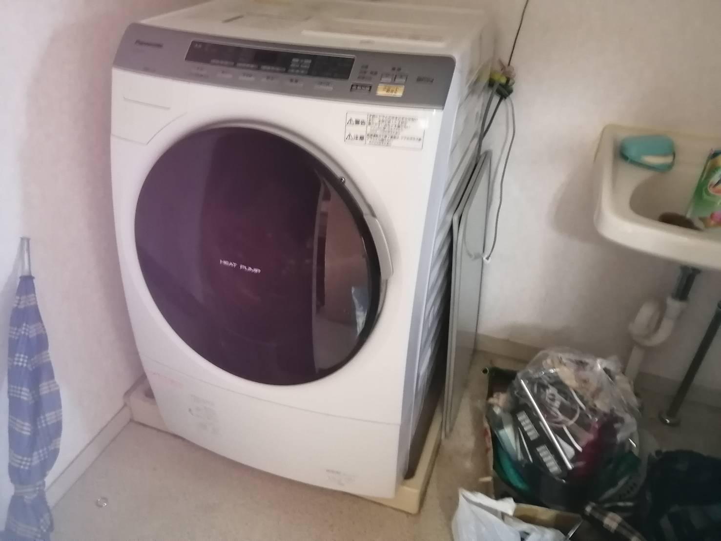 兵庫県神戸市の洗濯機の回収前