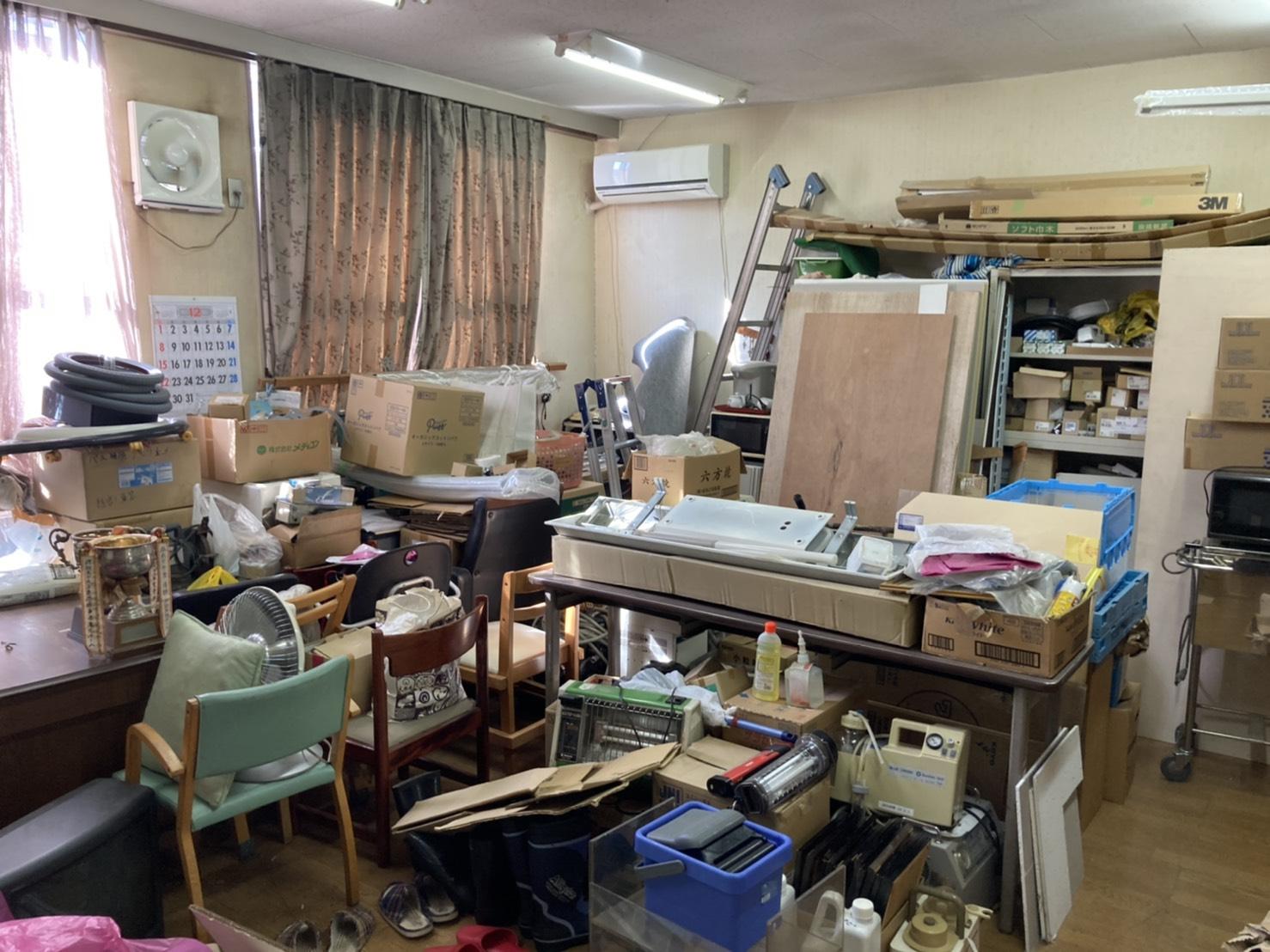 家具を始めとした不用品の回収前