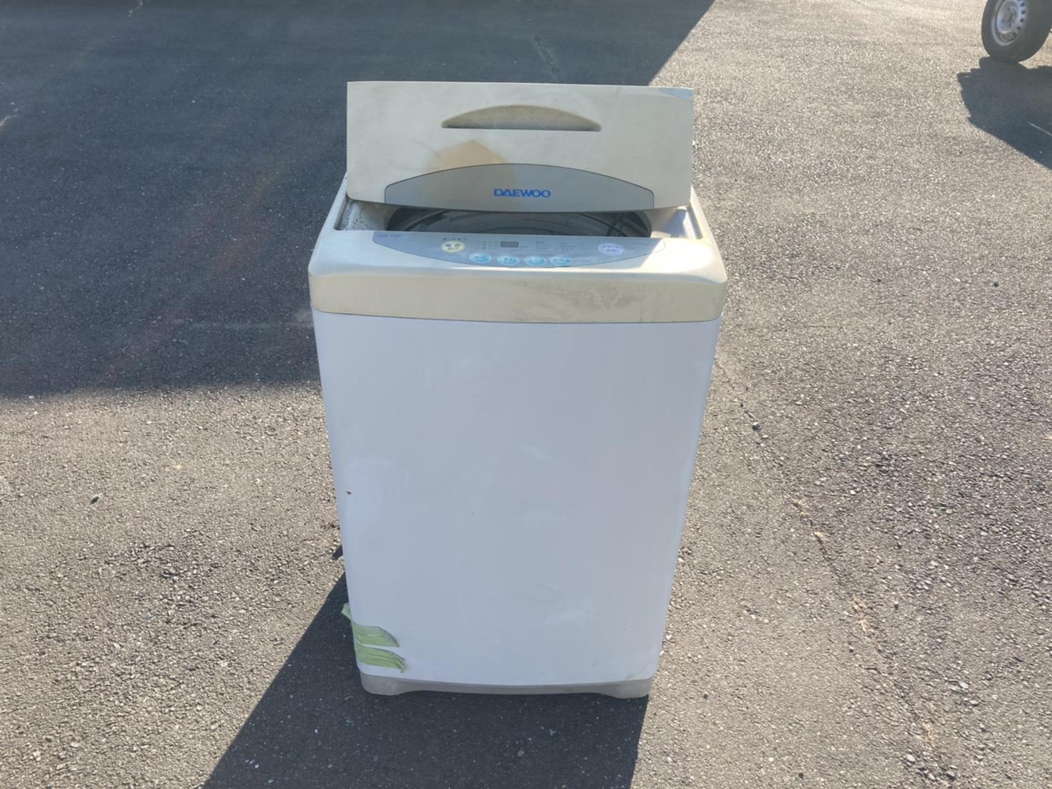 洗濯機の回収前