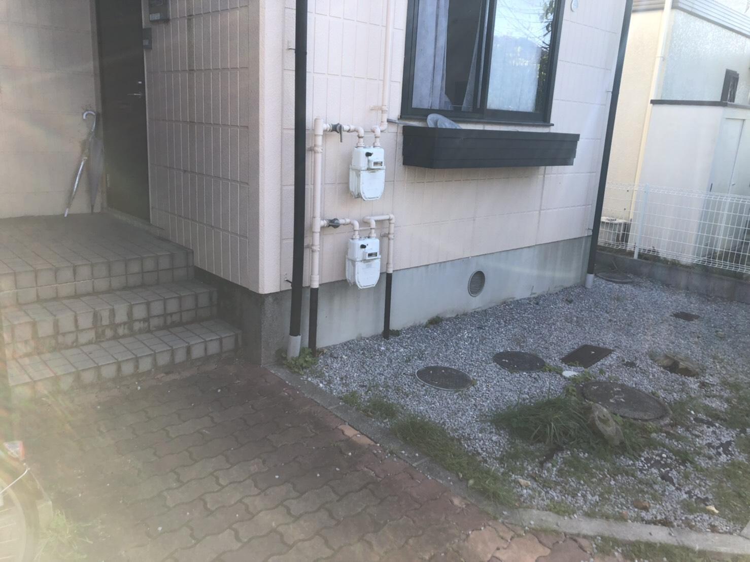 家具が中心の不用品の回収後